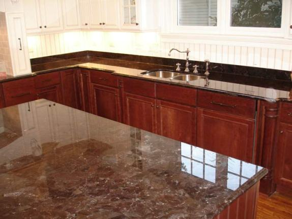Black Granite Mixed Cabinets